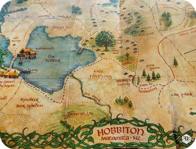 Risultati immagini per map hobbiton set